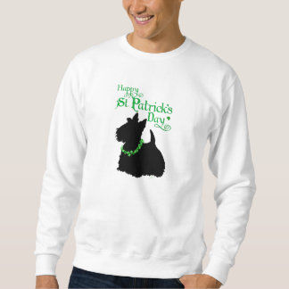 St Patrick's Day Scottish Terrier Sweatshirt