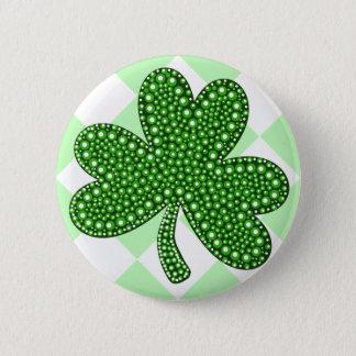 St Patricks Day Shamrock Classic 6 Cm Round Badge
