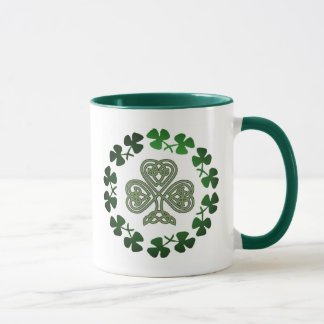 St. Patrick's Day Shamrock coffee mugs & drinkware