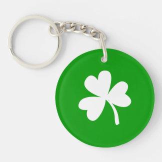 St. Patrick's Day Shamrock Keychain