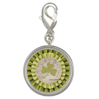 St. Patrick's Day Shamrock Leaf Bracelet Charm
