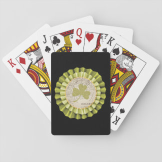 St. Patrick's Day Shamrock Leaf Playing Cards