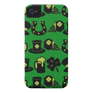 St Patricks Day Shamrock Pot of Gold Green Beer iPhone 4 Case