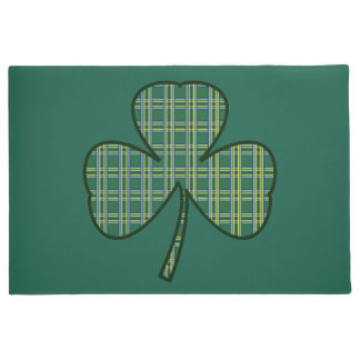 St. Patrick's Day Shamrock Welcome Doormat Gift