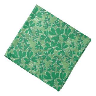 St. Patrick's Day Shamrocks Bandana