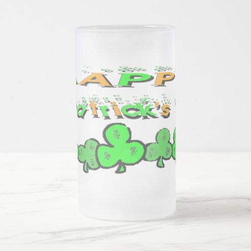St Patrick's Day Shamrocks Coffee Mugs