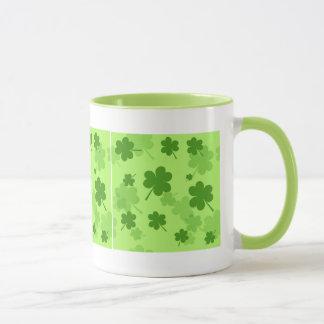 St. Patrick's Day Shamrocks Mug