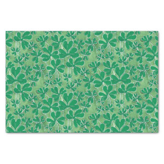 St. Patrick's Day Shamrocks Tissue Paper