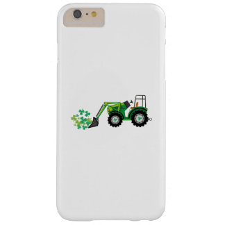 St. Patrick's Day Shamrocks Tow Truck For Boy Kids Barely There iPhone 6 Plus Case