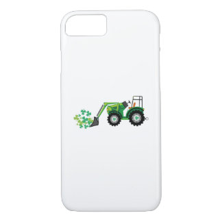 St. Patrick's Day Shamrocks Tow Truck For Boy Kids iPhone 8/7 Case