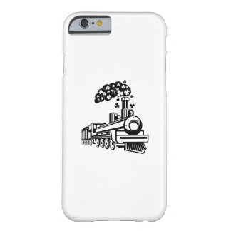 St. Patrick's Day Shamrocks Train Cute For Kids Barely There iPhone 6 Case