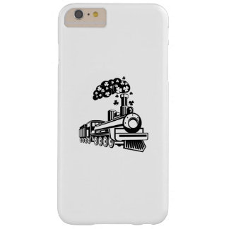 St. Patrick's Day Shamrocks Train Cute For Kids Barely There iPhone 6 Plus Case