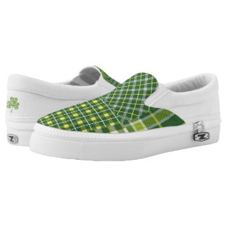 St. Patrick's Day slip on Shoes