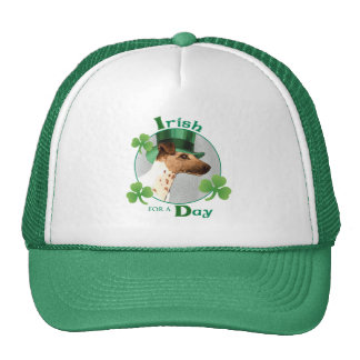 St. Patrick's Day Smooth Fox Terrier Cap