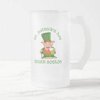 St Patricks Day ~South Boston Mugs