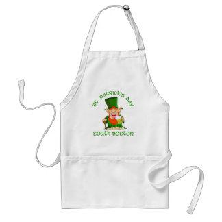 St Patricks Day ~South Boston Standard Apron