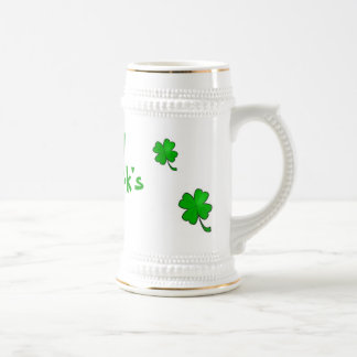 St Patrick's Day Stein