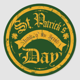 St Patrick's Day Sticker