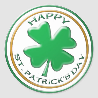 St Patricks Day sticker