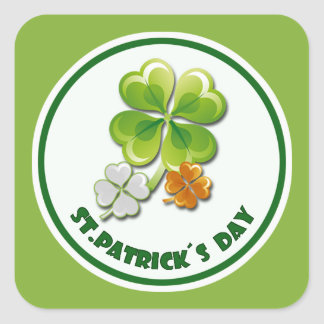 St. Patrick's Day Stickers Stickers
