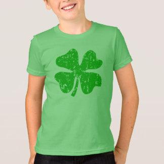 St Patricks Day tee for children | Green shamrock