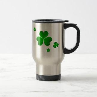 St. Patrick's Day Travel Mug