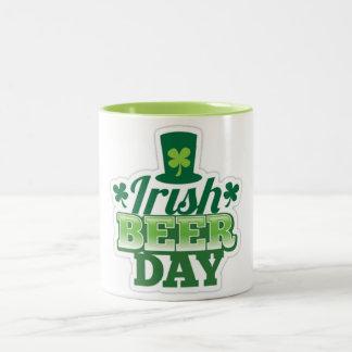 St. Patrick's day Two-Tone Mug