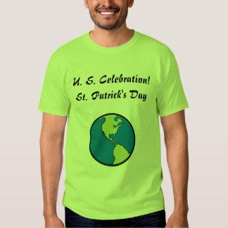 ST. Patrick's Day  U. S. Celebration-Customize T Shirt