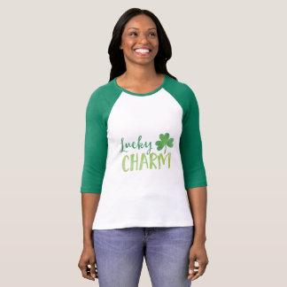 St Patricks Day Watercolor Shamrock T-Shirt