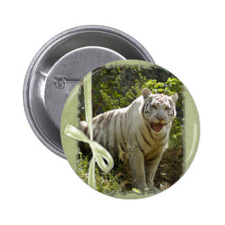 St. Patrick's Day-White Tiger Pins