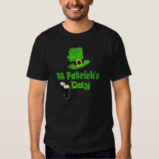St Patricks Day with Hat Shirts