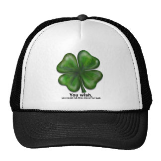St. Patrick's Day, you wish Hats