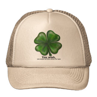 St. Patrick's Day, you wish Hat