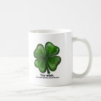 St. Patrick's Day, you wish Mugs