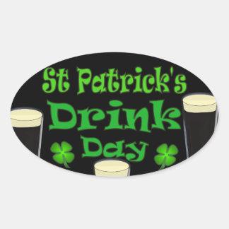 St Patricks Drink Day - I'm Irish Stickers