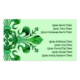 St. Patrick's Fleur de lis Pack Of Standard Business Cards