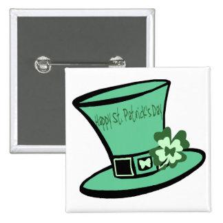 St. Patrick's Hat button