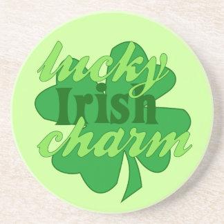 St. Patrick's Heart Drink Coaster