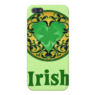 St. Patrick's Heart iPhone 5 Cover
