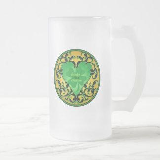 St. Patrick's Heart Lucky Charm Coffee Mug