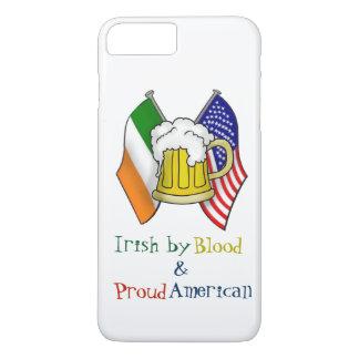 ST PATRICKS IRISH  AMERICAN FLAG + BEER MUG COVER