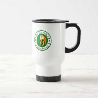 St. Patrick's Irish Stout Travel Mug