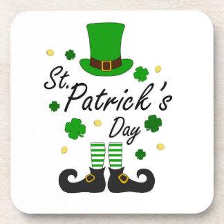 St Patricks Leprechaun Coaster