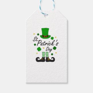 St Patricks Leprechaun Gift Tags