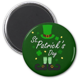 St Patricks Leprechaun Magnet