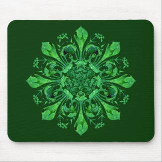 St. Patrick's Lucky Fleur de lis Mouse Pad
