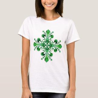 St. Patrick's Lucky Fleur de lis T-Shirt
