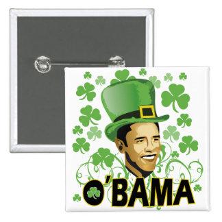 St Patrick's O'Bama 2009 15 Cm Square Badge