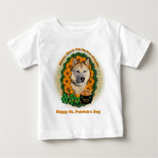 St Patricks - Pot of Gold - Siberian Husky -Copper T-shirts