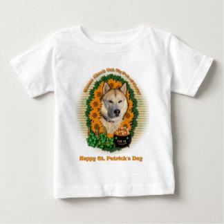 St Patricks - Pot of Gold - Siberian Husky -Copper Tshirts